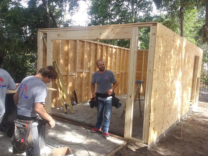 American Hammer Garage Build Lincolnville (12)