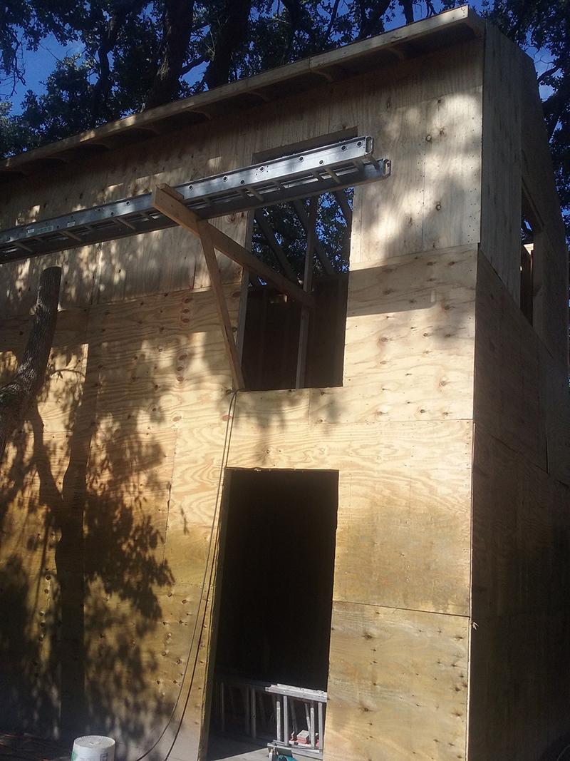 American Hammer Garage Build Lincolnville (24)