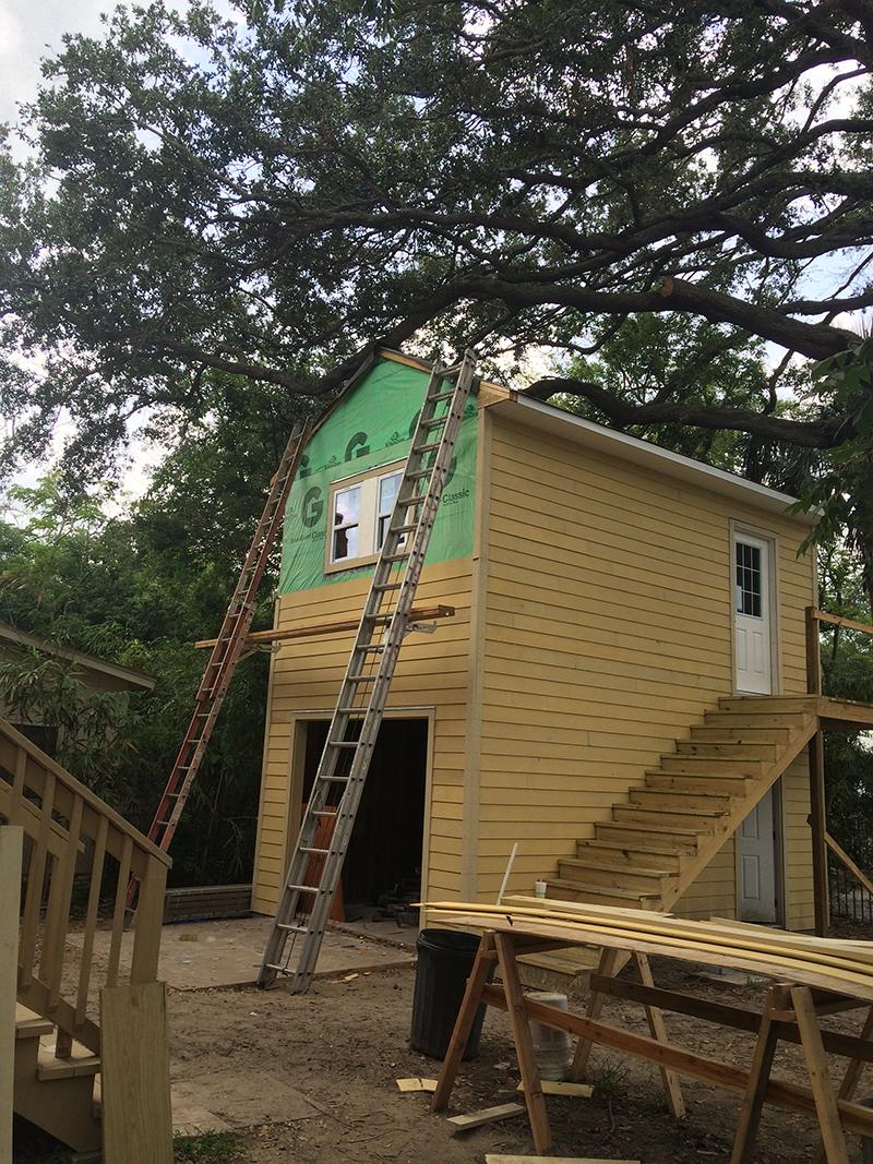 American Hammer Garage Build Lincolnville (31)