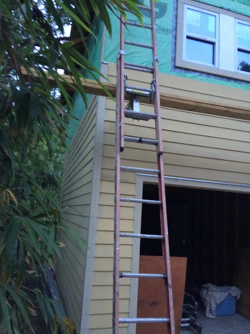 American Hammer Garage Build Lincolnville (38)