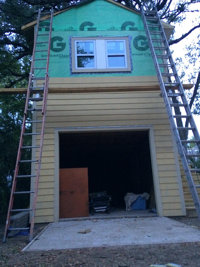 American Hammer Garage Build Lincolnville (40)
