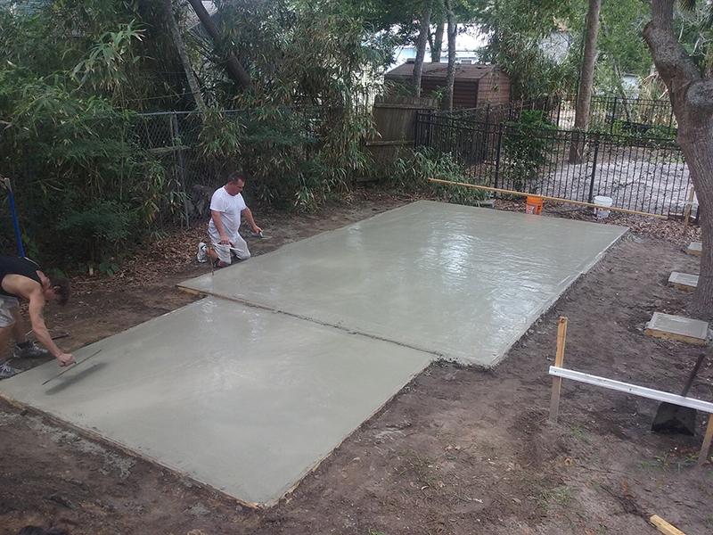 American Hammer Garage Build Lincolnville (5)