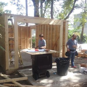 American Hammer Garage Build Lincolnville (13)