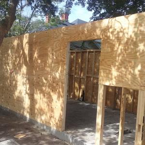 American Hammer Garage Build Lincolnville (17)