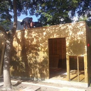 American Hammer Garage Build Lincolnville (21)