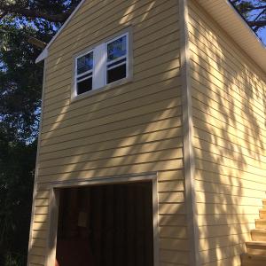American Hammer Garage Build Lincolnville (41)