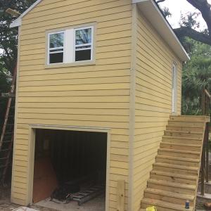 American Hammer Garage Build Lincolnville (42)