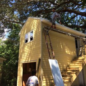 American Hammer Garage Build Lincolnville (44)