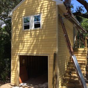 American Hammer Garage Build Lincolnville (46)